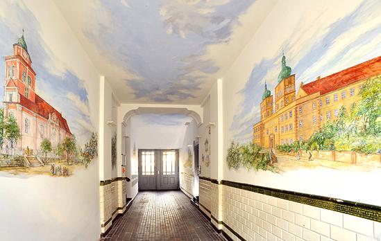 Atelier holger barthel illusionsmalerei - Wandmalerei berlin ...